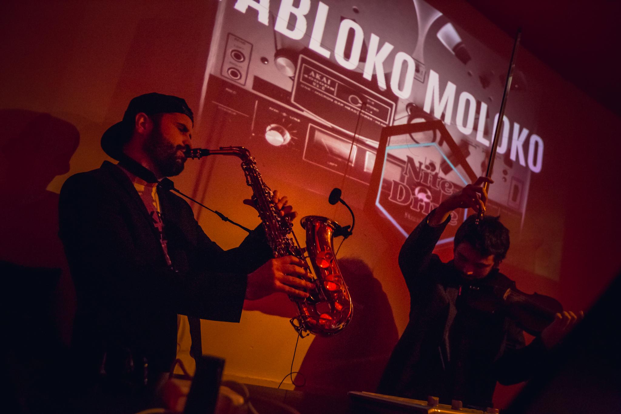 Yabloko Moloko Electro Swing DJ + Saxofon in Barcelona