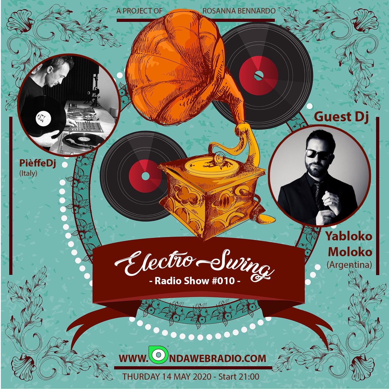 Yabloko Moloko Electro Swing Dj and Saxofonist with Pièffe DJ - Barcelona  - Napoles